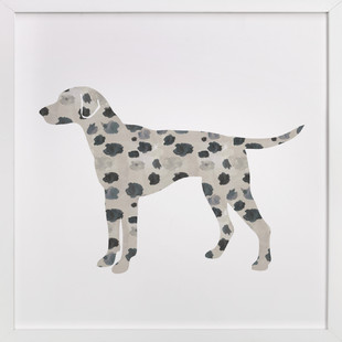 Dotty the Dalmatian Self-Launch Children's Art Print