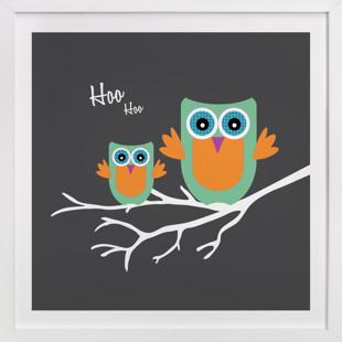 Hoo Hoo Self-Launch Children's Art Print