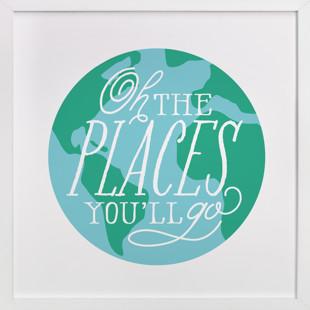 Places You'll Go Self-Launch Children's Art Print