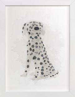 Spot the Dalmatian Self-Launch Children's Art Print
