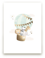 baby animals balloon ri... by peetie design