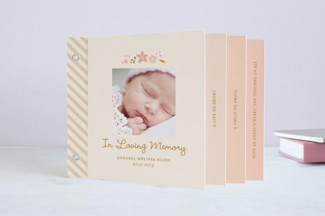 Childhood Angel Memorial Minibook Cards