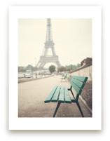 Paris in the Rain by Caroline Mint