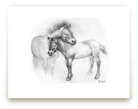 Steppe Horses by Tracy Ann