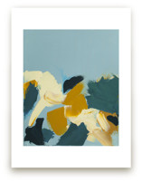Abstract Botanical Daff... by Caryn Owen