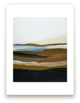 Brown Seascape by Caryn Owen