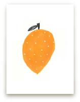 Lemon Lauren Print by Katie Short
