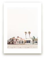 Beach Houses 2 by Kamala Nahas