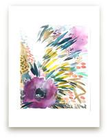 Aubergine Bloom by Kara Aina