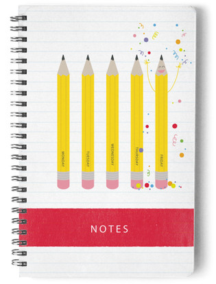 TGIF Pencil Self-Launch Notebook