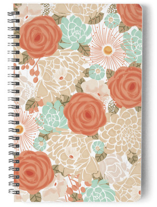 Tropical garden Self-Launch Notebook