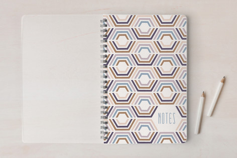 Divided Hexagons Journal Notebooks