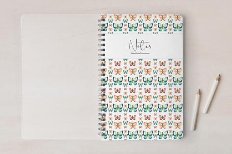 Watercolor Butterfly Pattern | Script Notebooks