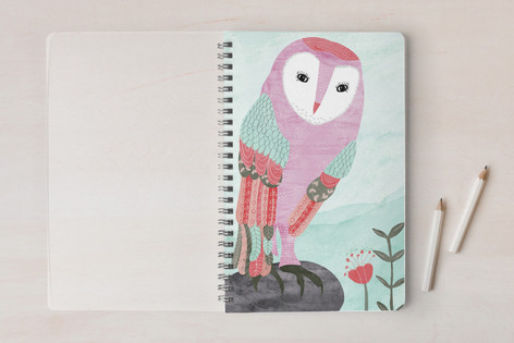Whimsical Owl Notebooks