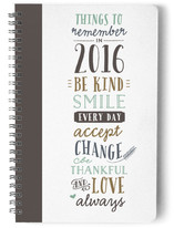 New Year's Checklist by Jennifer Postorino