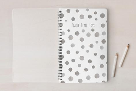 Spotty Grey Notebooks