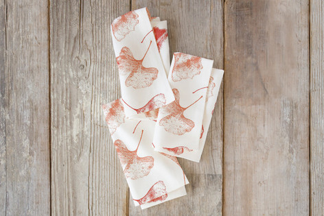 Gingko Floral Self Launch Napkins