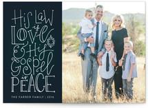 Love and Peace Custom Stationery