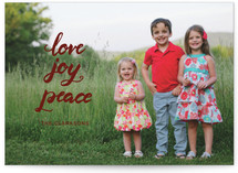 script love joy peace Custom Stationery