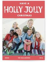 Herringbone Holly Jolly by Shannon