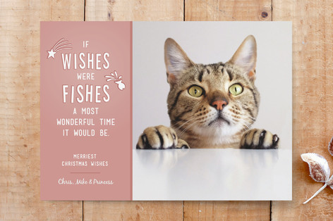 Wishes and Fishes Custom Stationery