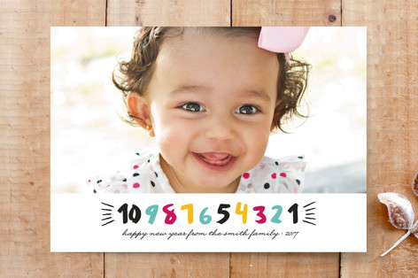 Countdown to the New Year Custom Stationery