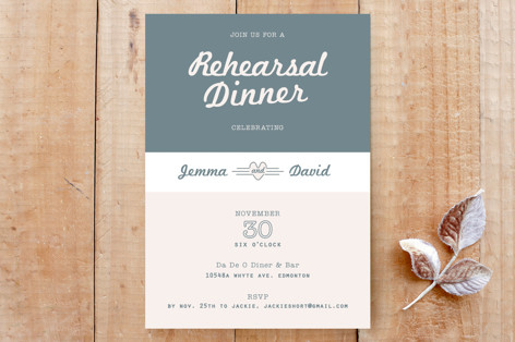 Retro Rehearsal Custom Stationery