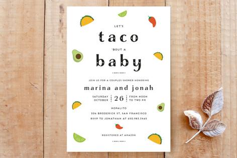 Taco Baby Custom Stationery