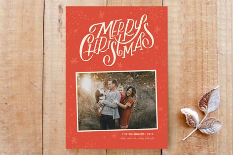 Starry Christmas Custom Stationery