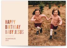 Happy Birthday Jesus by Sarah Lenger