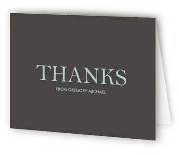 Letter Mitzvah Thank You Cards