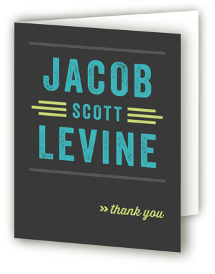 Namely Mitzvah Thank You Cards