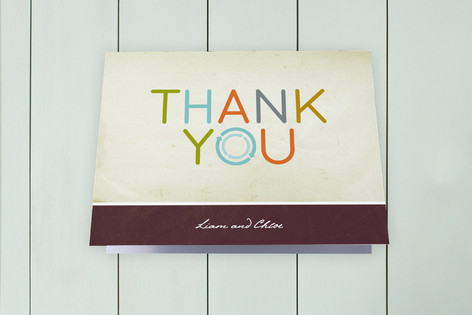 Movin' On Up Moving Announcements Thank You Cards