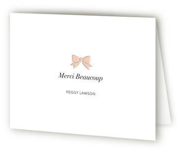 La Parisienne Moving Announcements Thank You Cards
