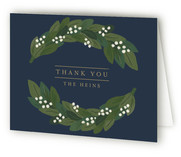 Door Wreath Moving Announcements Thank You Cards
