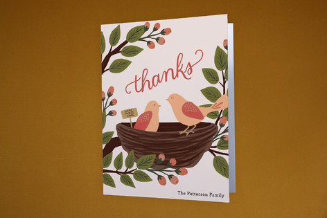 Home Tweet Home Moving Announcements Thank You Cards