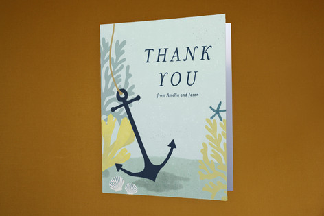Drop Us A Line Moving Announcements Thank You Cards