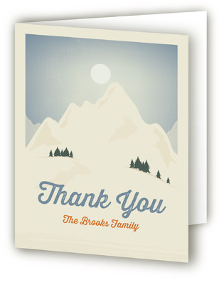 Moving Mountains Moving Announcements Thank You Cards