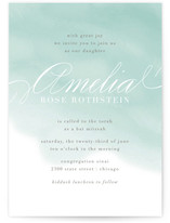 Water Wash Mitzvah Invitations