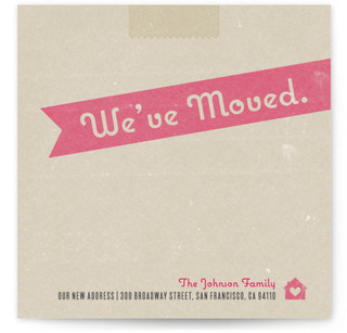 Moving Box Moving Announcements