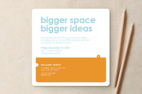 Big Space - Bigger Ideas Moving Announcements