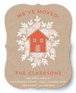 Floral House Moving Announcements