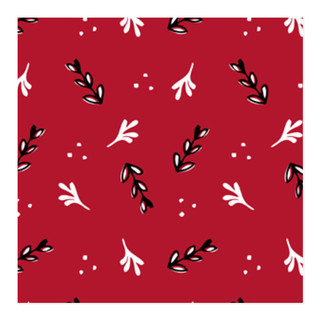 Merry Leaves Self-Launch Wrapping Paper