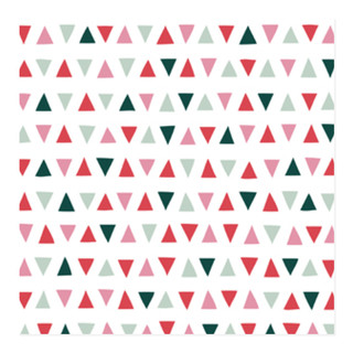 Triangle Triangle Self-Launch Wrapping Paper