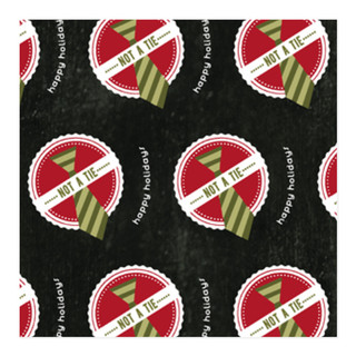 No Tie Holiday Self-Launch Wrapping Paper