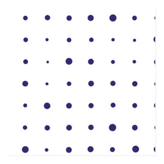 Messy Polka Dots Self-Launch Wrapping Paper