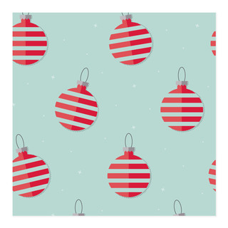 Vintage Ornament Pattern Self-Launch Wrapping Paper