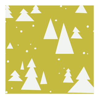 Tilty Trees Self-Launch Wrapping Paper