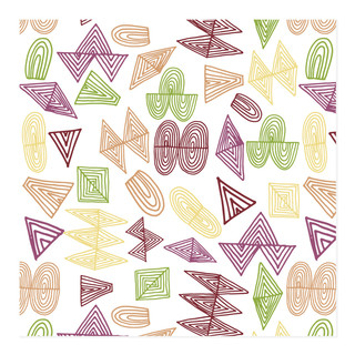 doodles shapes Self-Launch Wrapping Paper