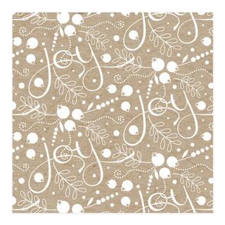 Sprigs of Joy Self-Launch Wrapping Paper